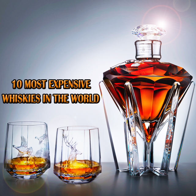 Top 10 most expensive Whiskies in the world