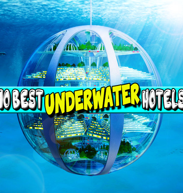 10 Best Underwater Hotels
