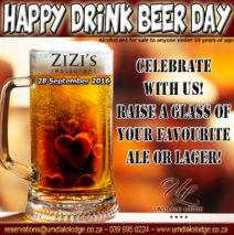 Happy International Drink Beer Day
