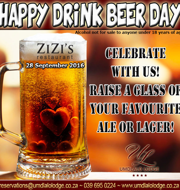 Happy International Drink Beer Day